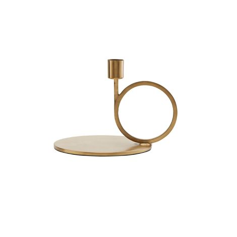 House Doctor Kerzenständer Cirque Brass Finish 12,8 cm •