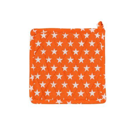 Krasilnikoff Topflappen Star Orange
