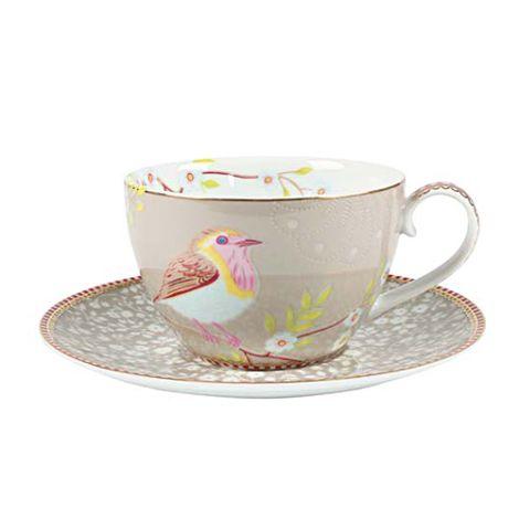 pip studio cappuccino tasse early bird khaki online kaufen emil paula. Black Bedroom Furniture Sets. Home Design Ideas