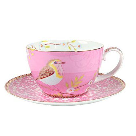 PIP Studio Cappuccino-Tasse Early Bird Pink