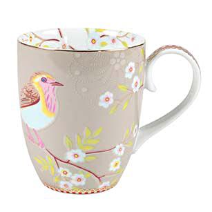 PIP Studio Mug Kaffeebecher Early Bird Khaki