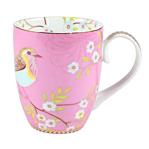 PIP Studio Mug Kaffeebecher Early Bird Pink 350ml