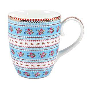 PIP Studio Mug Kaffeebecher Ribbon Rose Blue