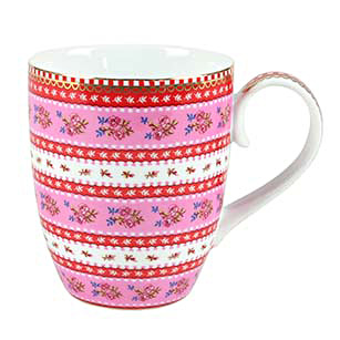 PIP Studio Mug Kaffeebecher Ribbon Rose Pink