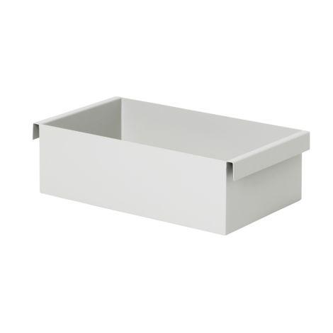 ferm LIVING Pflanzen/ Aufbewahrungs-Box Container Light Grey