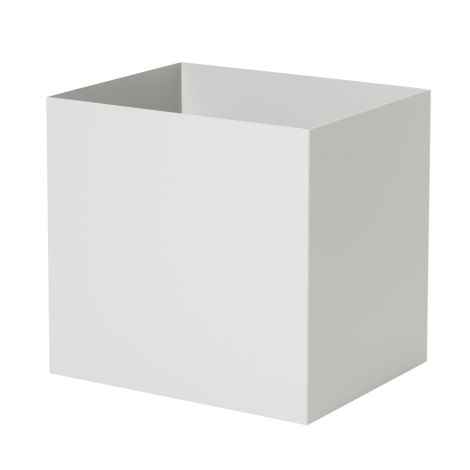ferm LIVING Plant-Box/Multi-Box Pot Light Grey •