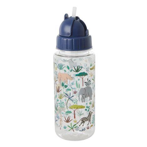 Rice Trinkflasche Jungle Animals Green