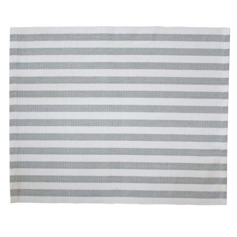 Krasilnikoff Platzset Stripes Grey