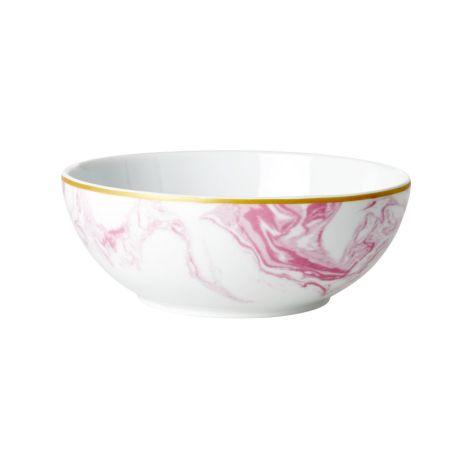 Rice Porzellan Schüssel Marble Bubblegum Pink •