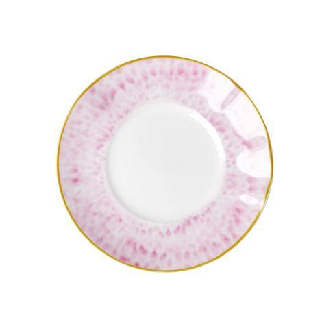Rice Porzellan Dessert-Teller Glaze Bubblegum Pink •