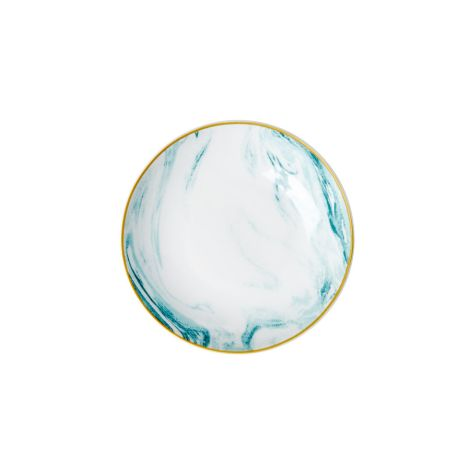 Rice Porzellan Dip-Schüssel Marble Jade •