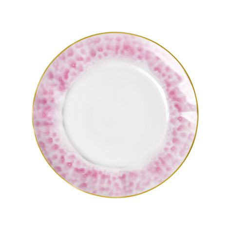Rice Porzellan Speiseteller Glaze Bubblegum Pink •
