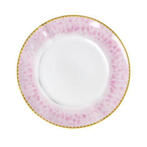 Rice Porzellan Teller Glaze Bubblegum Pink