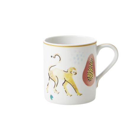 Rice Porzellan Tasse Monkey 350 ml