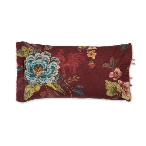 PIP Studio Zierkissen Poppy Stitch Red 35x60