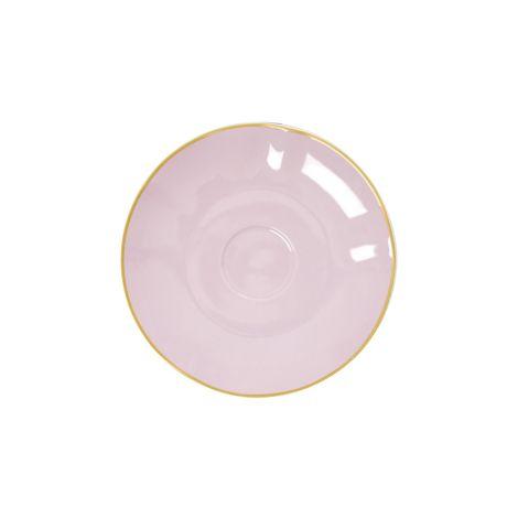 Rice Porzellan Untertasse Bubblegum Pink