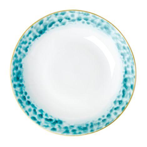 Rice Porzellan Servierschüssel Glaze Jade •