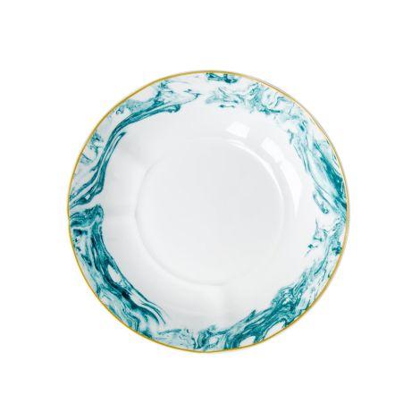 Rice Porzellan Pasta-Teller Marble Jade •