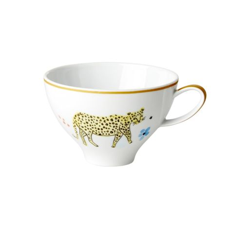 Rice Porzellan Teetasse Wild Leopard 310 ml •