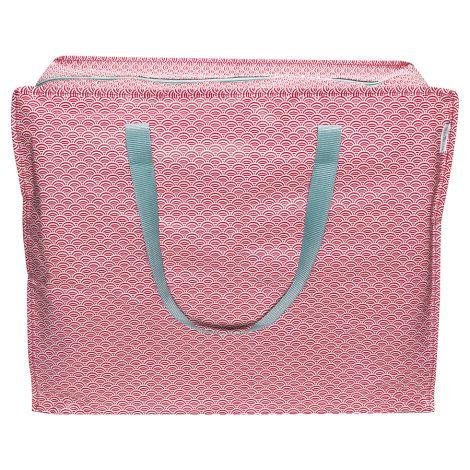 GreenGate Aufbewahrungs-Tasche Nancy Red Large •