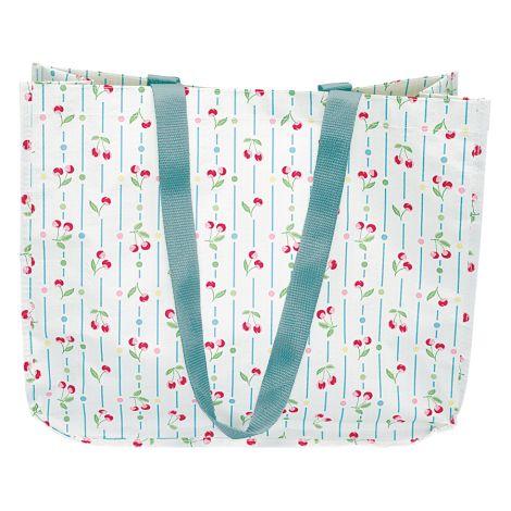 GreenGate Shopper Tasche Cherry White •