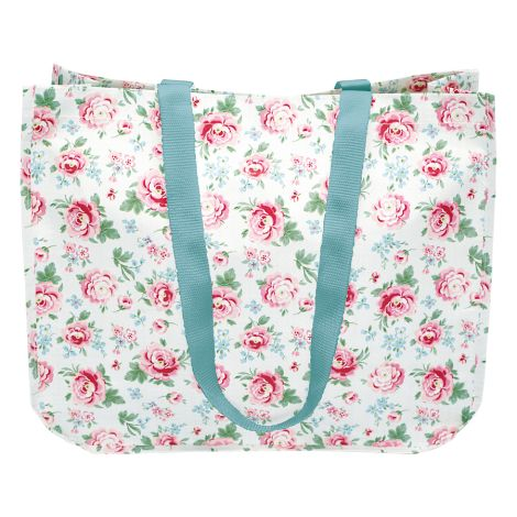 GreenGate Shopper Tasche Meryl White rund