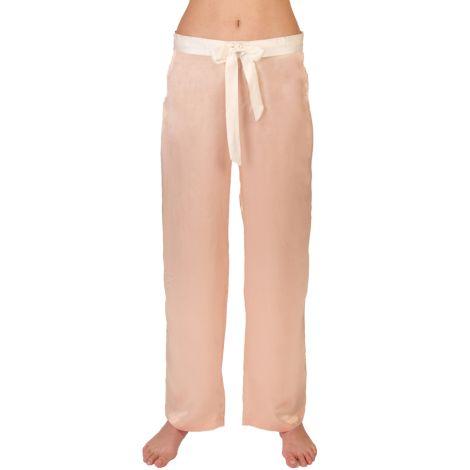COCOON HOMEWEAR Pyjamahose Aphrodite Rose/Ecru