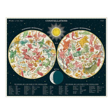 Cavallini Puzzle Constellations 1000-teilig