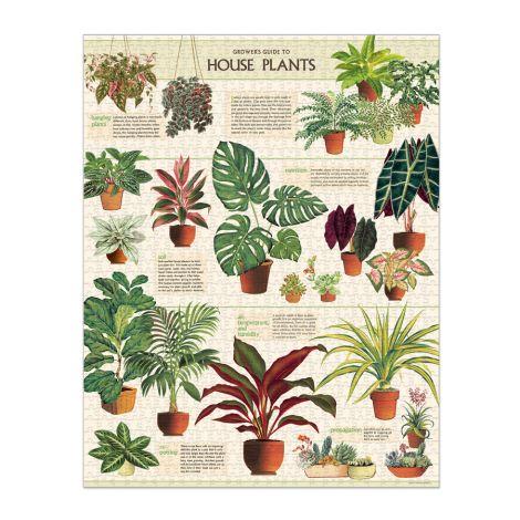 Cavallini Puzzle House Plants 1000-teilig