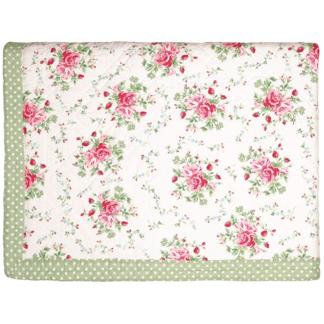 GreenGate Quilt Tagesdecke Mary White