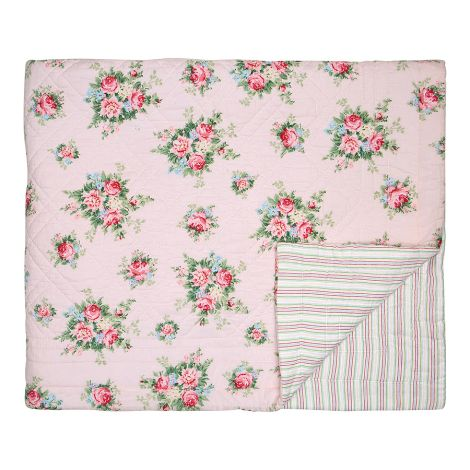 GreenGate Quilt Tagesdecke Aurelia Pale Pink