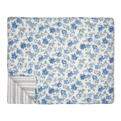 GreenGate Quilt Tagesdecke Donna Blue