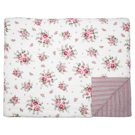 GreenGate Quilt Tagesdecke Elouise White