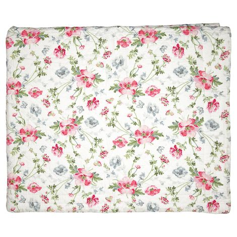 GreenGate Quilt Tagesdecke Meadow White