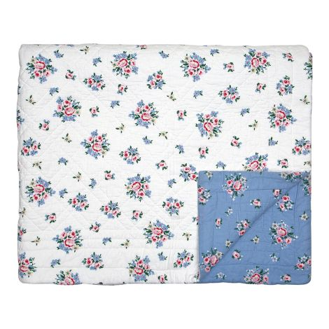 GreenGate Quilt Tagesdecke Nicoline Dusty Blue