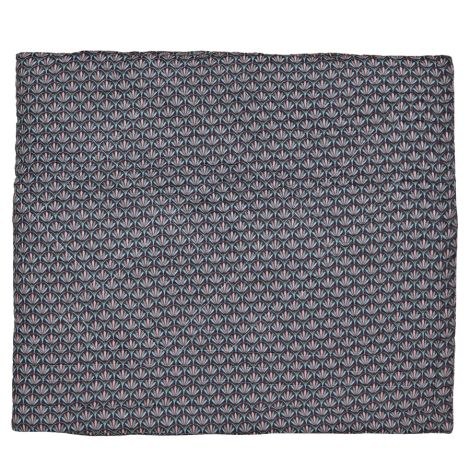 GreenGate Quilt Victoria Dark Grey 140x220