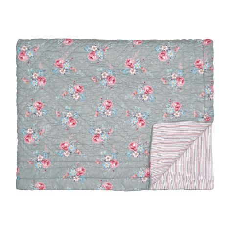 GreenGate Quilt Marie Grey
