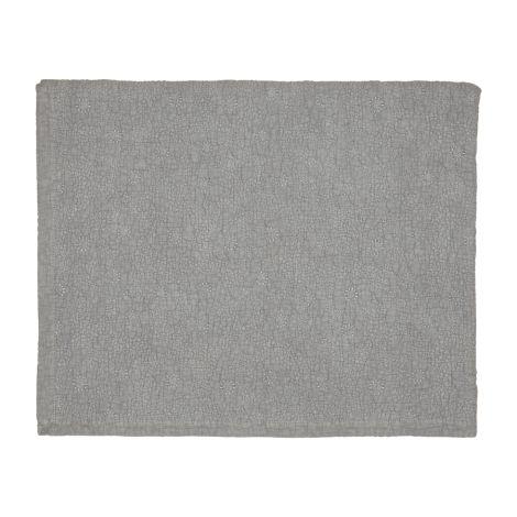 GreenGate Quilt Grey Floral Stitch 140x220
