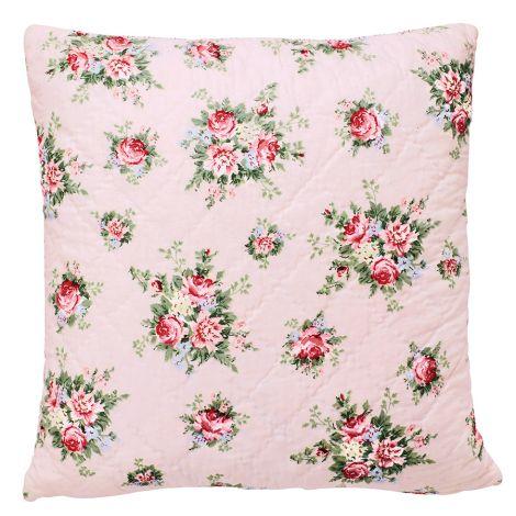 GreenGate Kissenhülle Aurelia Pale Pink 50x50cm