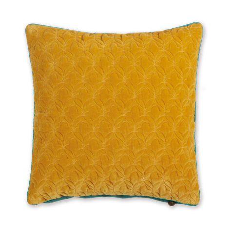 PIP Studio Zierkissen Quilty Dreams Yellow zweifarbig 45x45
