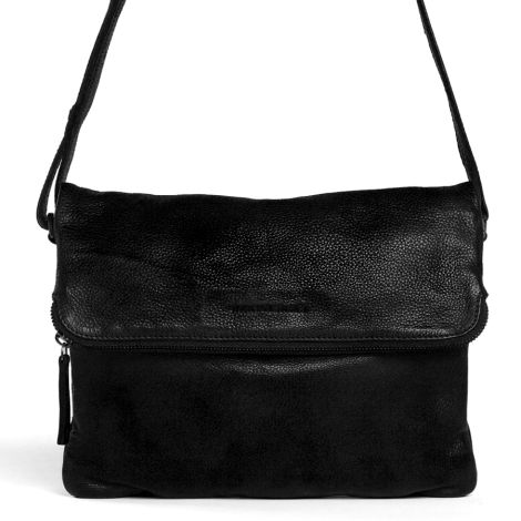 Sticks and Stones Ledertasche Rosebery Black •