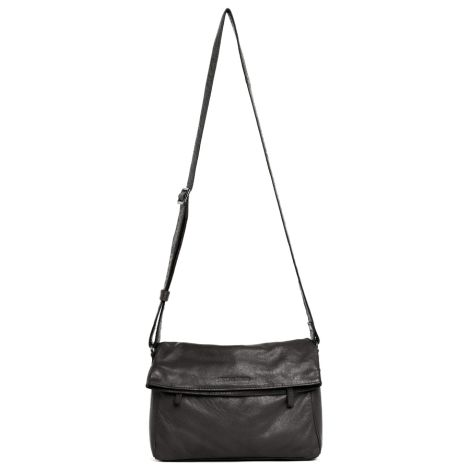 Sticks and Stones Ledertasche Salvador Anthracite Washed