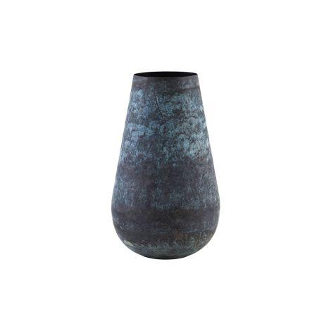 House Doctor Vase Sada Blau/Grün 35 cm