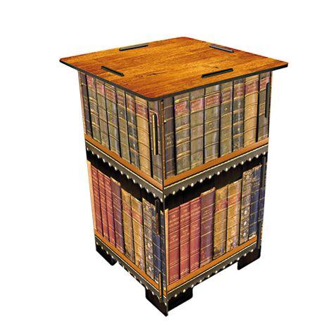 Werkhaus Photohocker antike Bücher