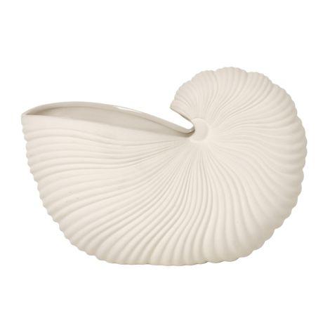 ferm LIVING Schale Shell Off White