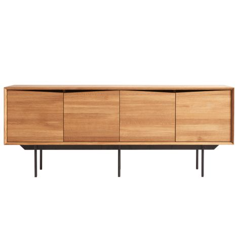 MUUBS Sideboard Schrank Wing Natural Oil