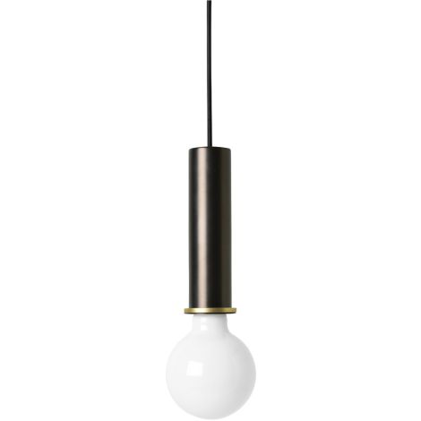 ferm LIVING Deckenleuchte High Black Brass