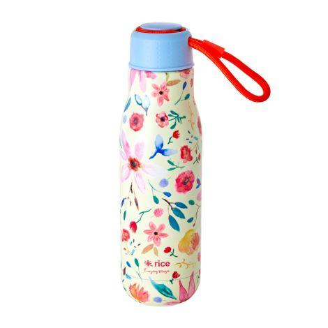 Rice Trinkflasche Edelstahl Selmas Flower 500 ml