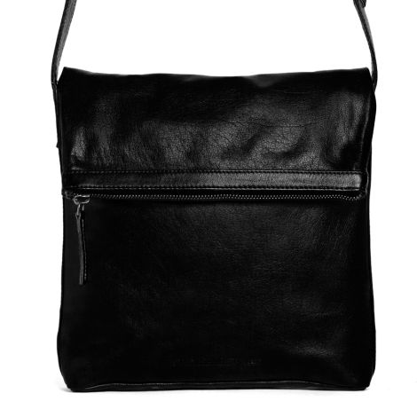 Sticks and Stones Ledertasche Strasbourg Black Washed