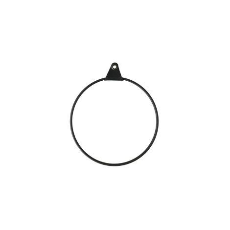 Strups Ring mit Aufhängung Black 16cm